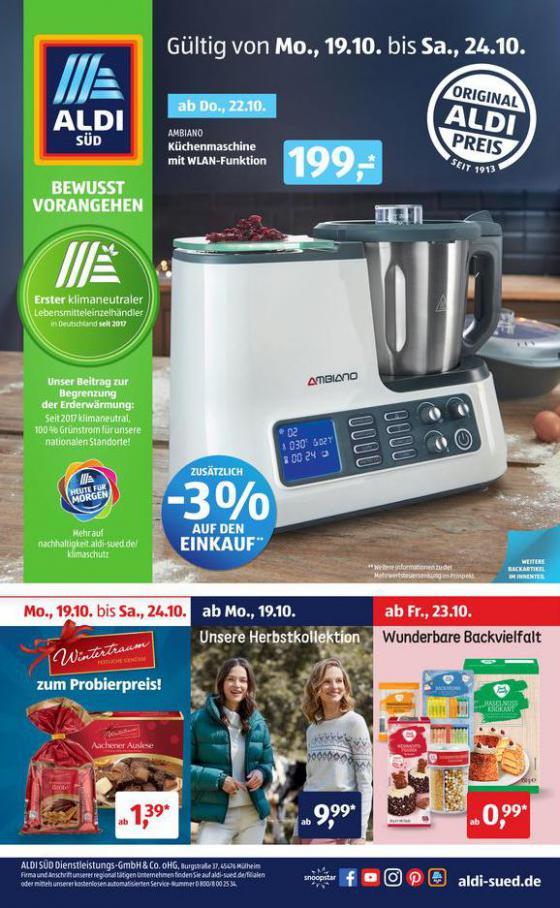 Aldi Süd flugblatt . Aldi Süd (2020-10-24-2020-10-24)