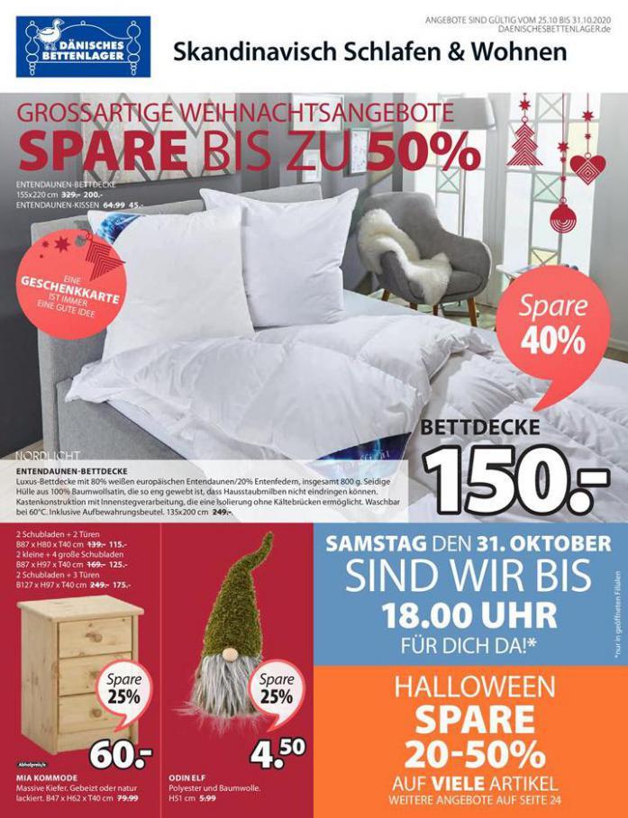 Skandinavisch Schlafen & Wohnen . Dänisches Bettenlager (2020-10-31-2020-10-31)