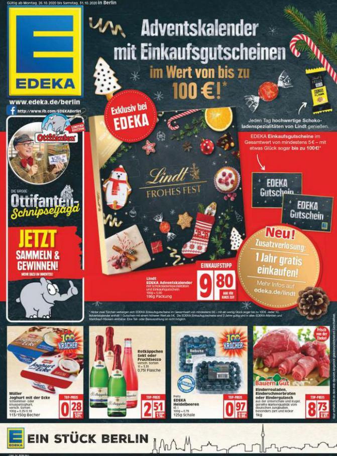 Edeka flugblatt . EDEKA (2020-10-31-2020-10-31)