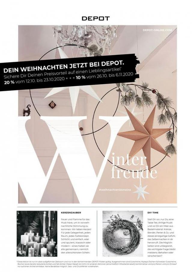 Katalog . Depot (2020-11-06-2020-11-06)