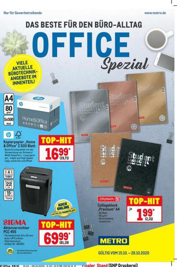 Office Spezial . Metro (2020-10-28-2020-10-28)