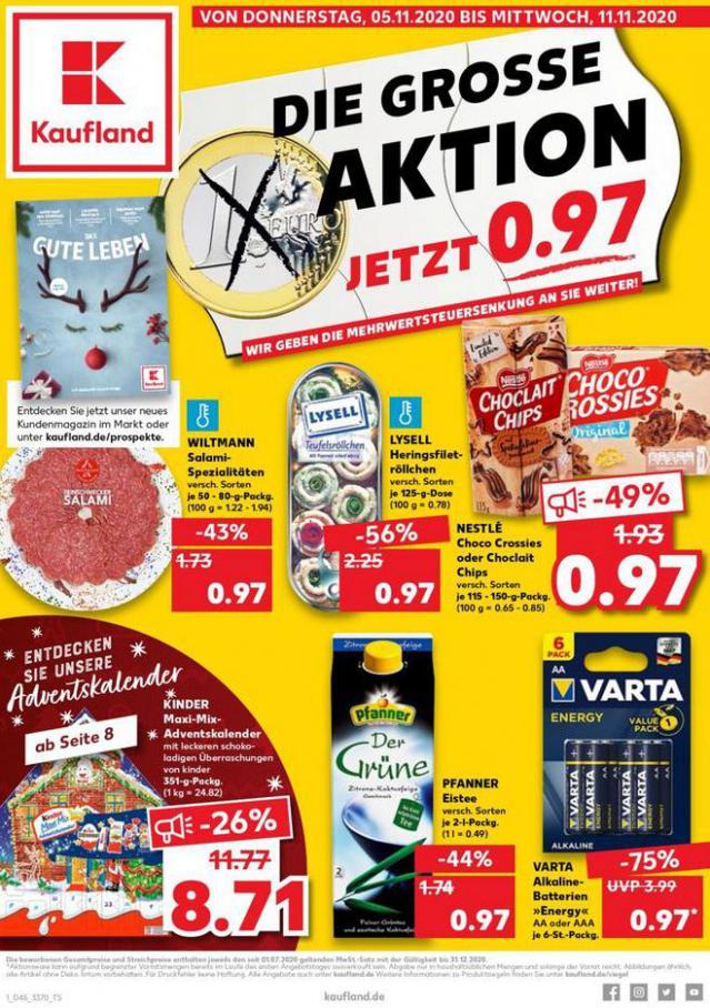 Angebote Kaufland . Kaufland (2020-11-11-2020-11-11)