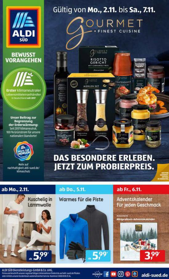 Aldi Süd flugblatt . Aldi Süd (2020-11-07-2020-11-07)