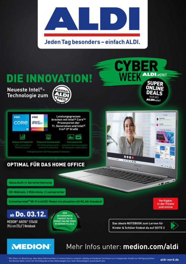 ALDI Cyberweek . Aldi Nord (2020-11-28-2020-11-28)