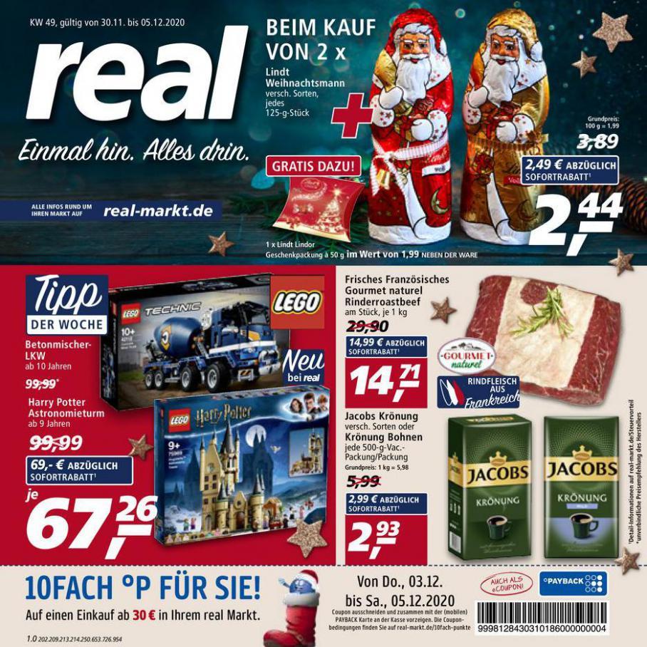 Prospekt Woche 49 . real (2020-12-05-2020-12-05)