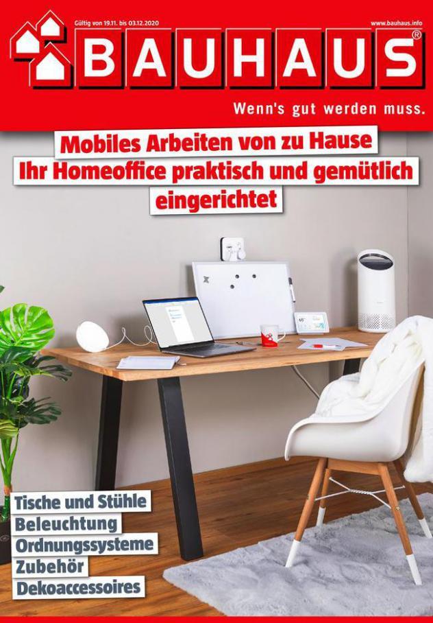 Prospekt Homeoffice . Bauhaus (2020-12-03-2020-12-03)