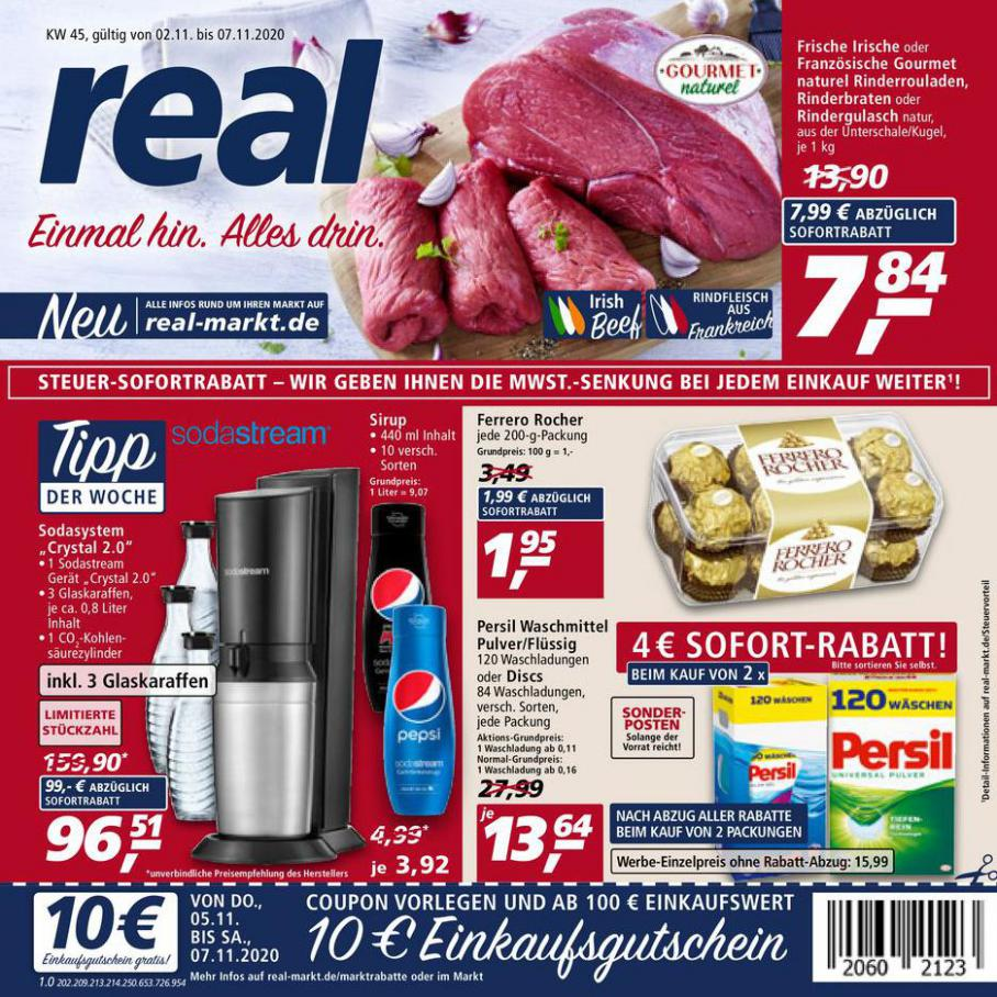 Prospekt Woche 45 . real (2020-11-07-2020-11-07)