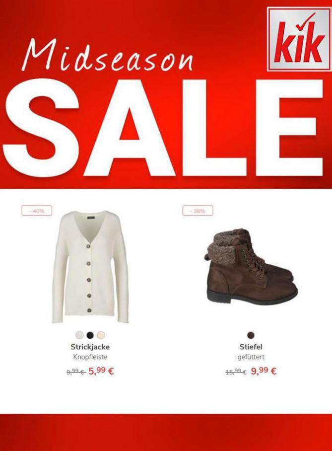 Midseason sale . KiK (2020-11-22-2020-11-22)