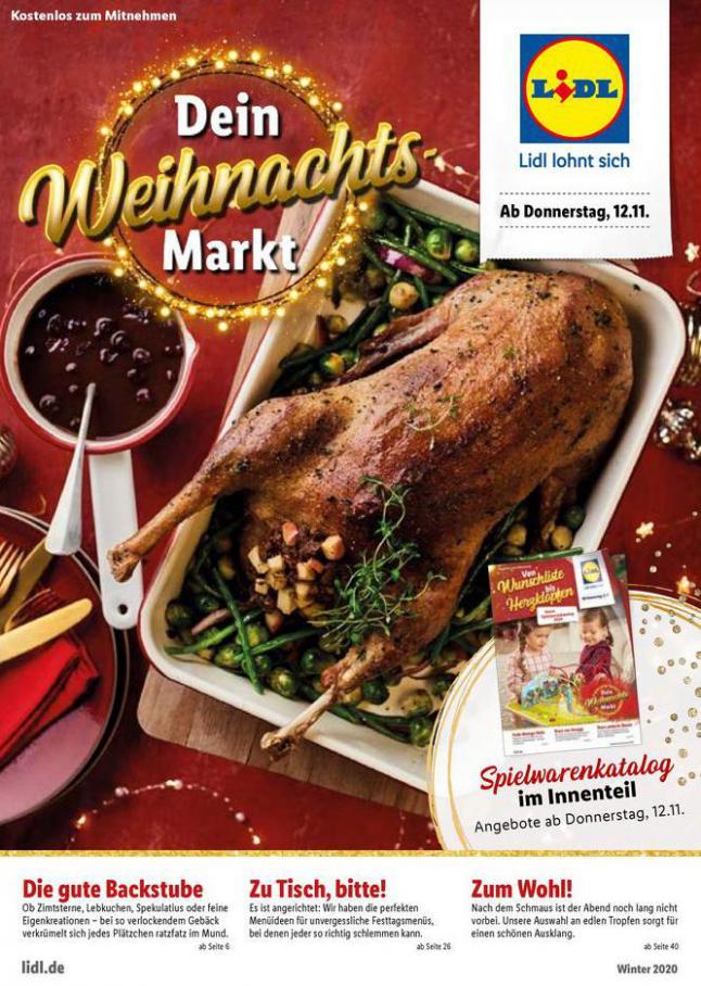Dein Weihnachtsmarkt . Lidl (2020-12-27-2020-12-27)