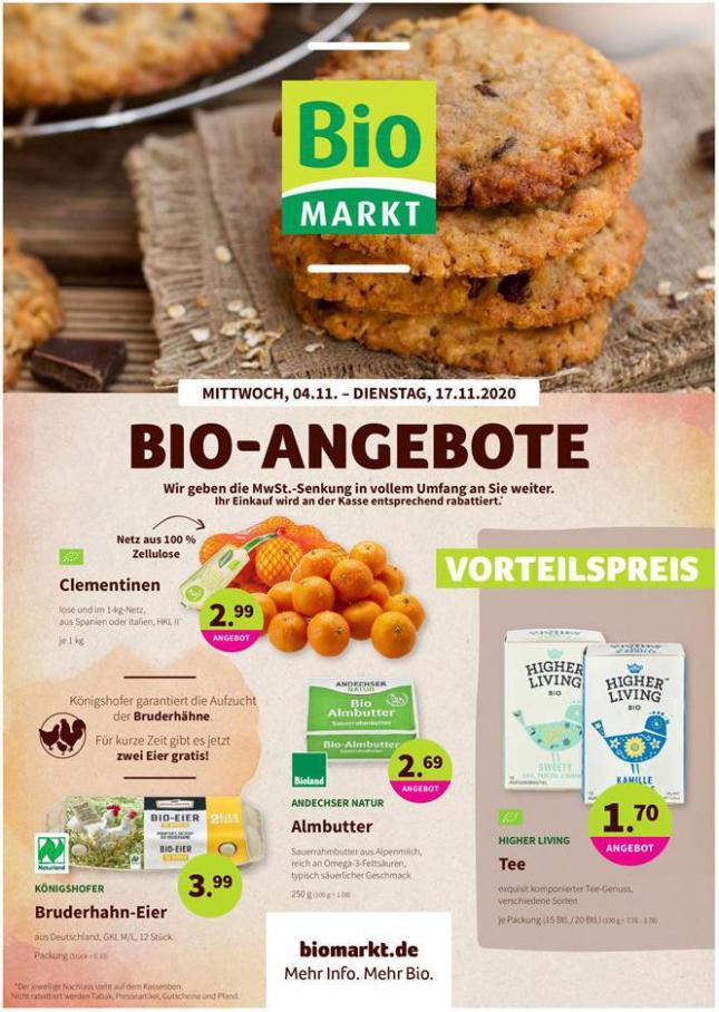 Bio-Angebote . BioMarkt (2020-11-17-2020-11-17)
