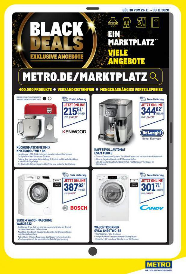 Angebote Metro Black Friday . Metro (2020-11-30-2020-11-30)