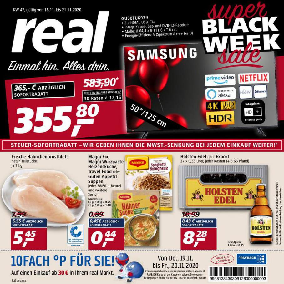 Prospekt Woche 47 . real (2020-11-21-2020-11-21)