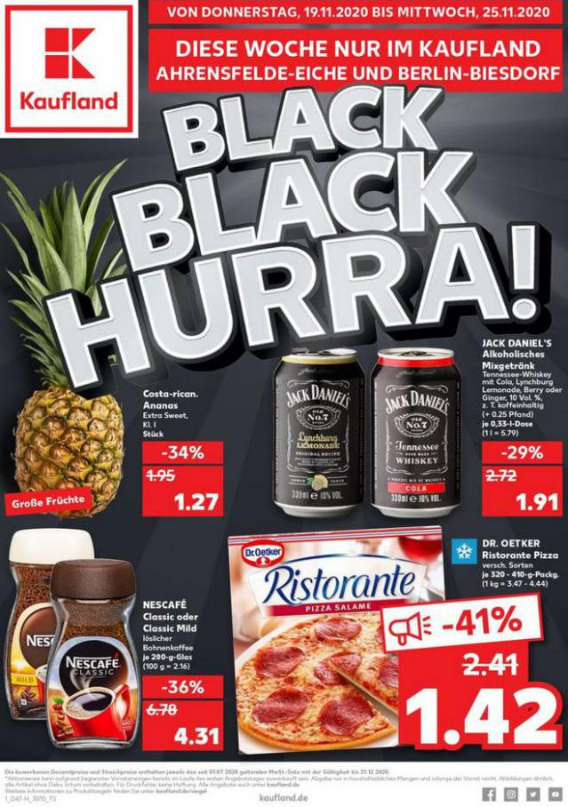 Angebote Black Friday Kaufland . Kaufland (2020-11-25-2020-11-25)