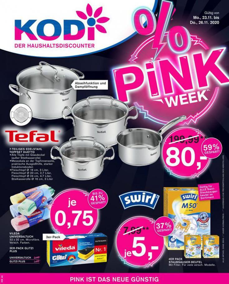 % PINK Week . KODi (2020-11-26-2020-11-26)
