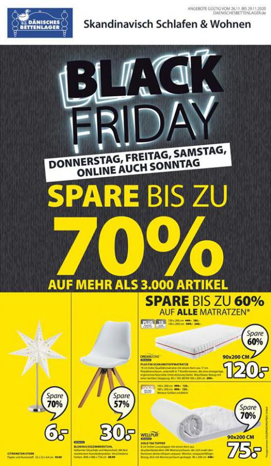 Black Friday . Dänisches Bettenlager (2020-11-29-2020-11-29)