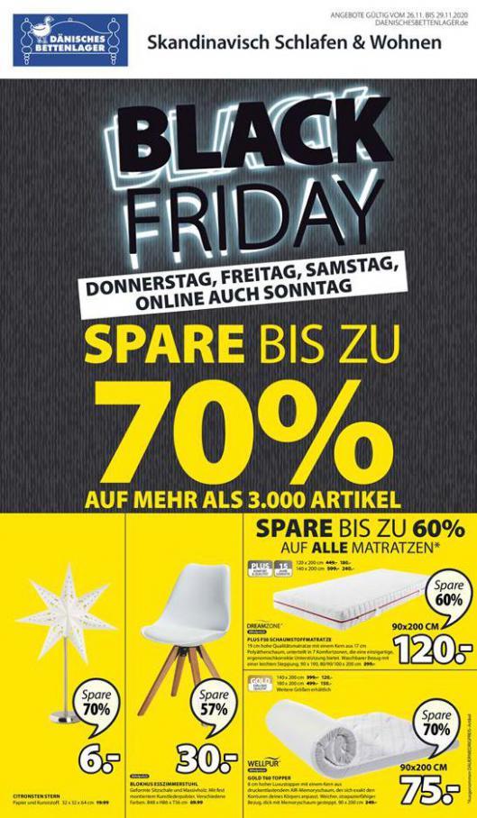 Black Friday . Dänisches Bettenlager (2020-11-29-2020-11-29)