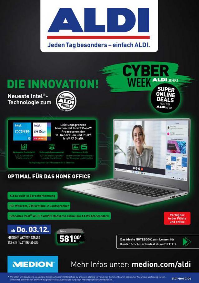 ALDI Cyberweek . Aldi Nord (2020-12-03-2020-12-03)