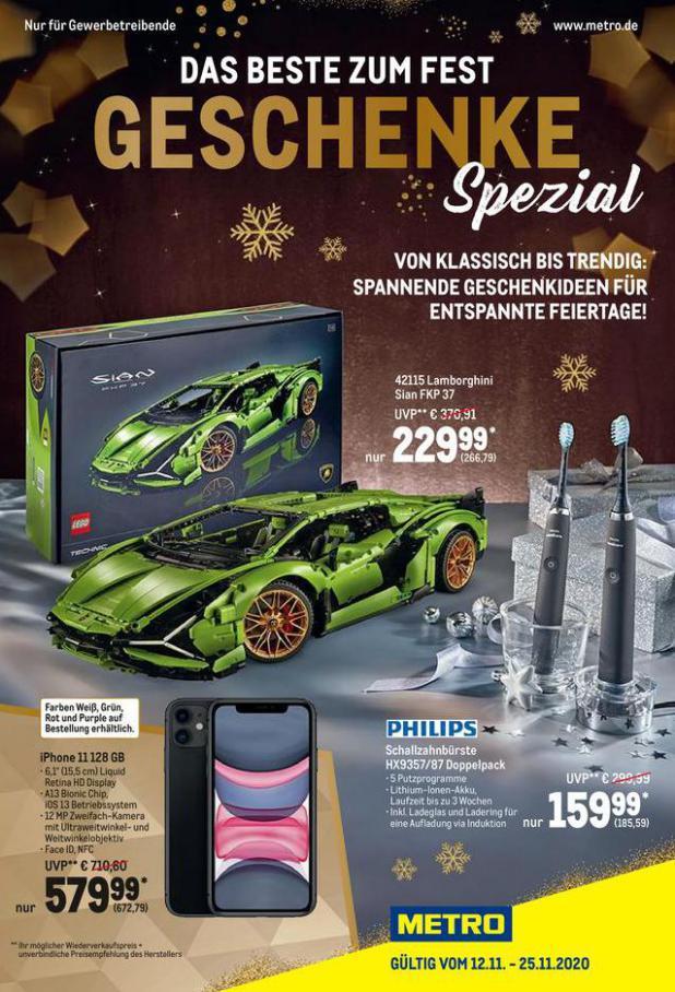Geschenke Spezial . Metro (2020-11-25-2020-11-25)