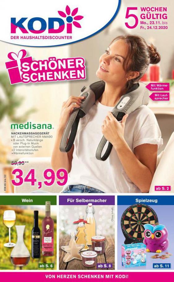Schöner schenken . KODi (2020-12-24-2020-12-24)
