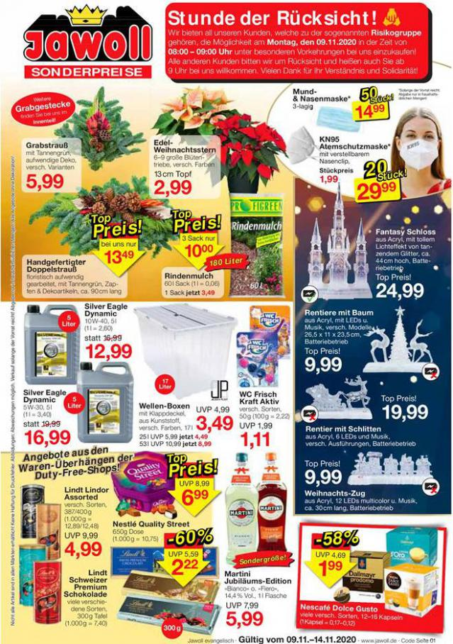 Angebote der Woche . Jawoll (2020-11-14-2020-11-14)