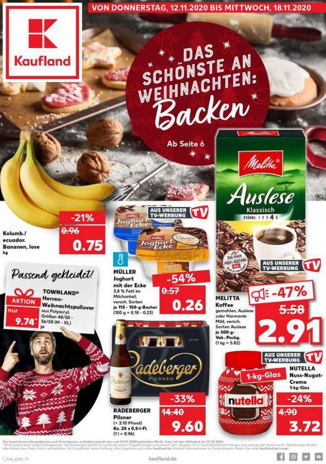 Angebote Kaufland . Kaufland (2020-11-18-2020-11-18)