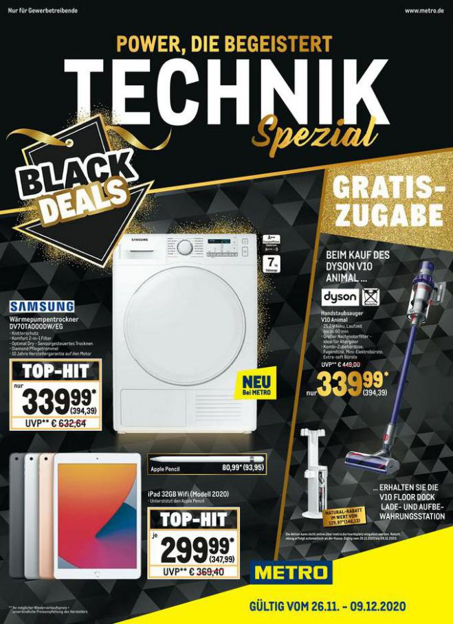 Angebote Metro Black Friday . Metro (2020-12-09-2020-12-09)