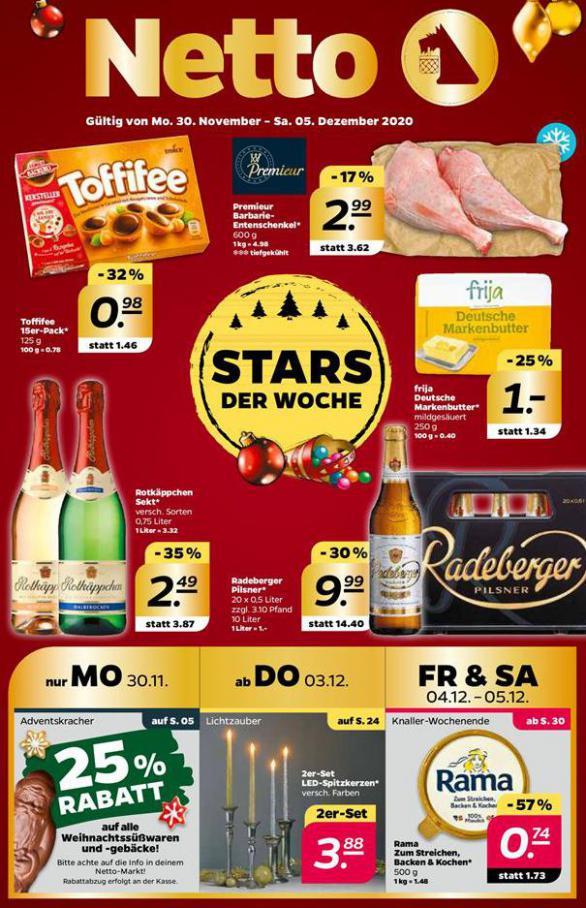 Stars der woche  . Netto (2020-12-05-2020-12-05)