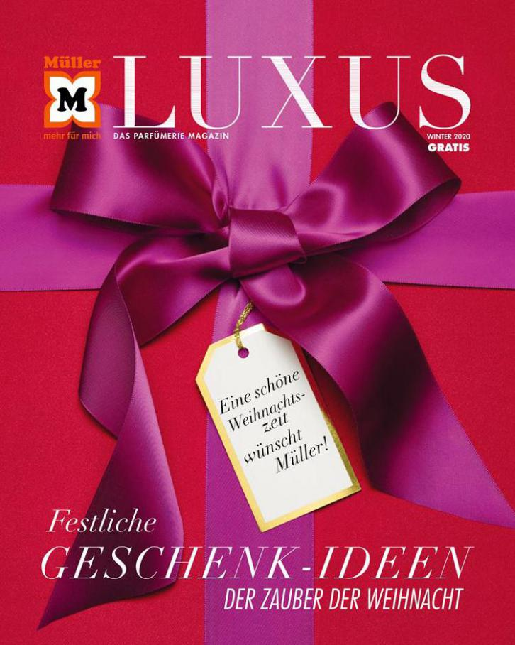 Luxus Winter 2020 . Müller (2020-12-31-2020-12-31)