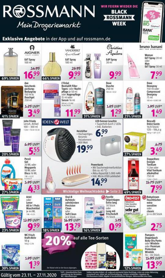 Rossmann Black Friday Angebote . Rossmann (2020-11-27-2020-11-27)