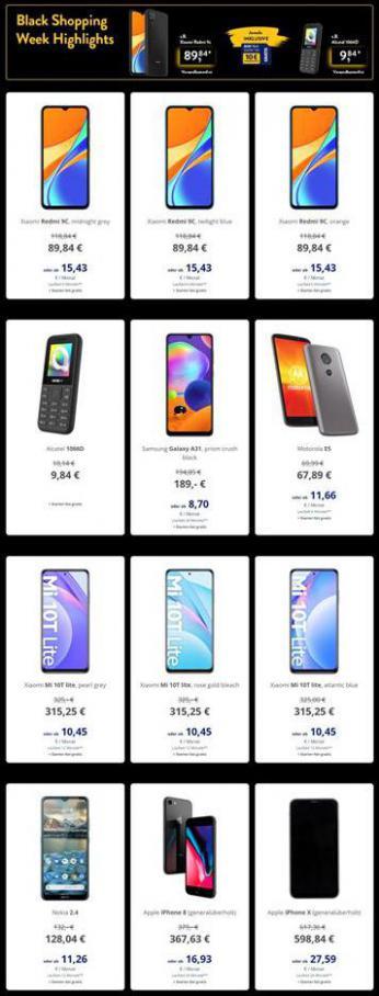 Aldi Süd Smartphones Blackweek . Aldi Süd (2020-11-30-2020-11-30)