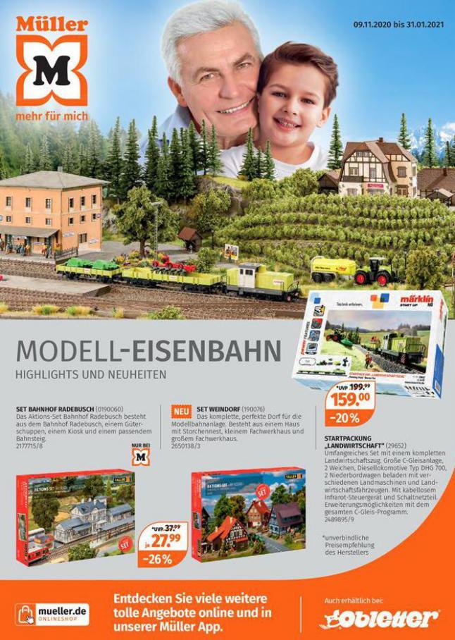 Modell-Eisenbahn . Müller (2021-01-31-2021-01-31)