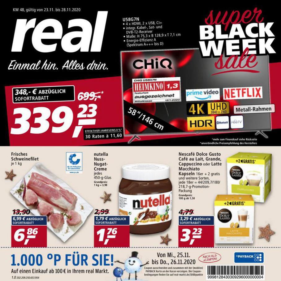 Prospekt Woche 48 . real (2020-11-28-2020-11-28)