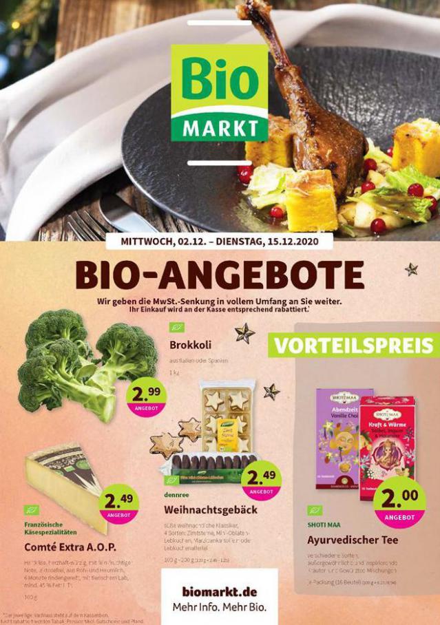 Bio-Angebote . BioMarkt (2020-12-15-2020-12-15)