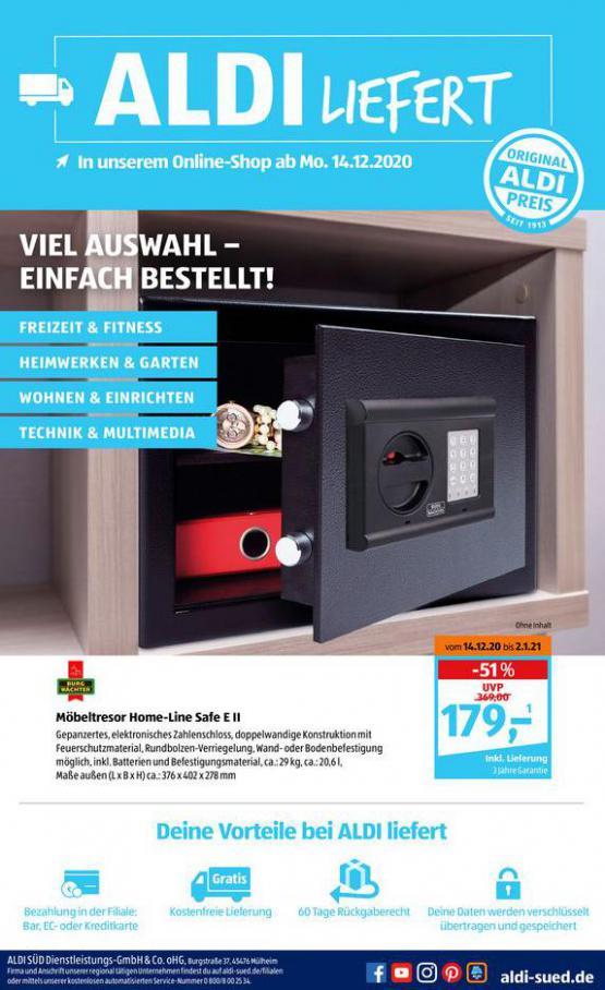 Aldi Süd flugblatt . Aldi Süd (2020-12-26-2020-12-26)