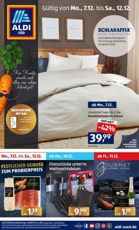 Aldi Süd flugblatt . Aldi Süd (2020-12-12-2020-12-12)