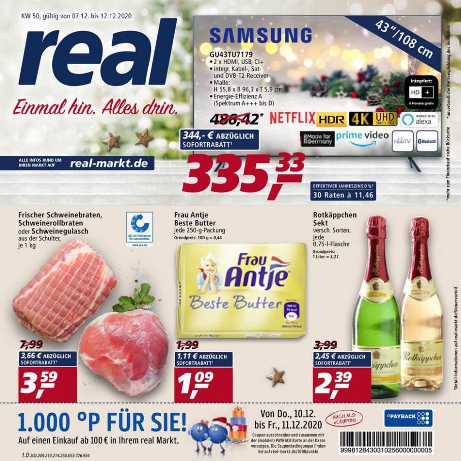 Prospekt Woche 50 . real (2020-12-12-2020-12-12)