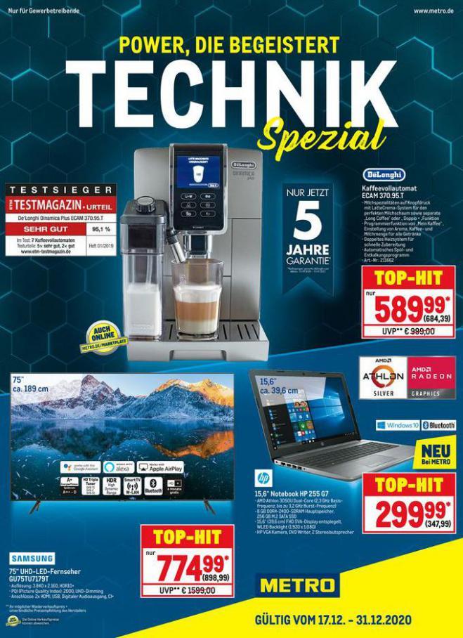 Technik Spezial . Metro (2020-12-31-2020-12-31)
