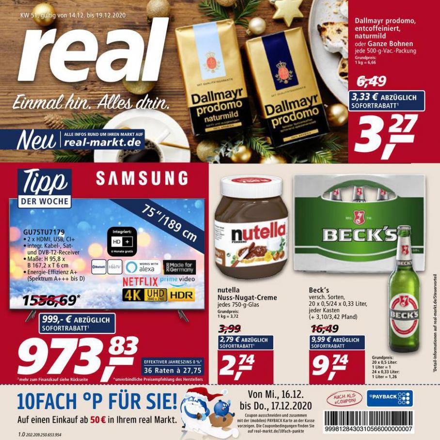 Prospekt Woche 51 . real (2020-12-19-2020-12-19)