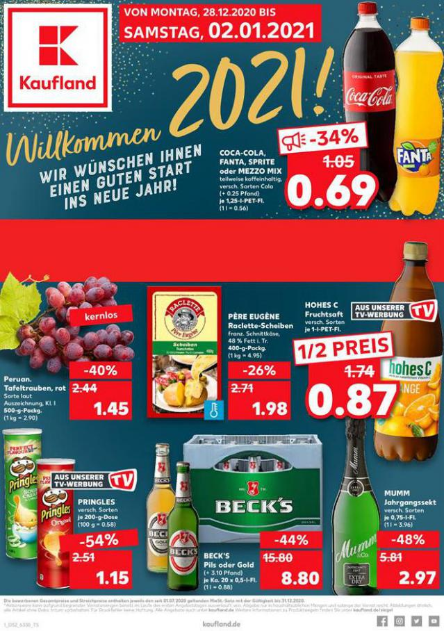 Angebote Kaufland . Kaufland (2021-01-02-2021-01-02)