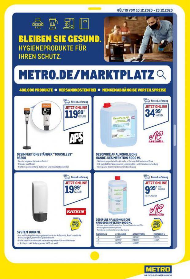 Angebote im Online-Marktplatz . Metro (2020-12-23-2020-12-23)