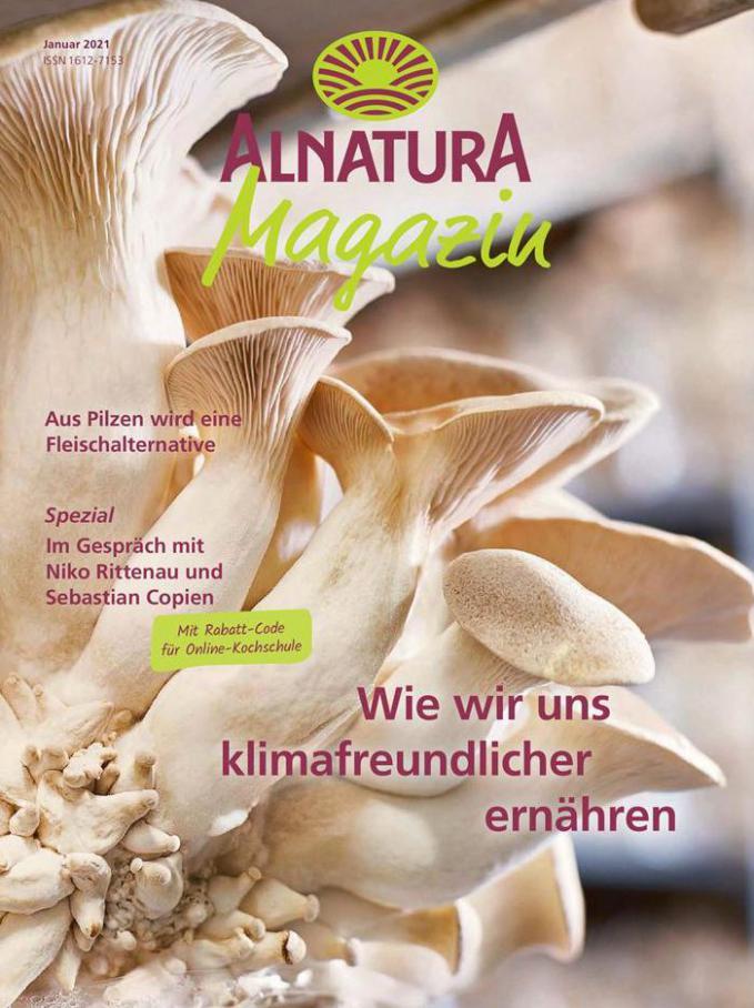 Alnatura Magazin Januar 2021 . Alnatura (2021-01-31-2021-01-31)