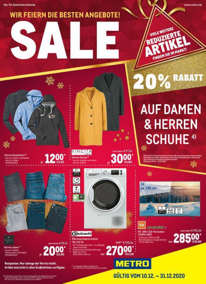 Sale Spezial . Metro (2020-12-31-2020-12-31)
