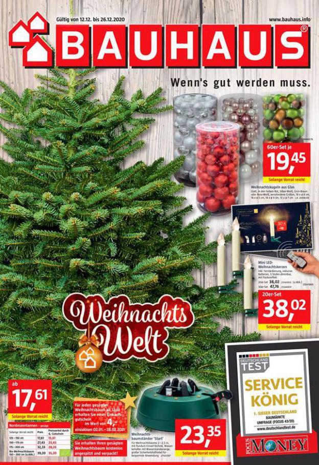 Weihnachts Welt . Bauhaus (2020-12-26-2020-12-26)