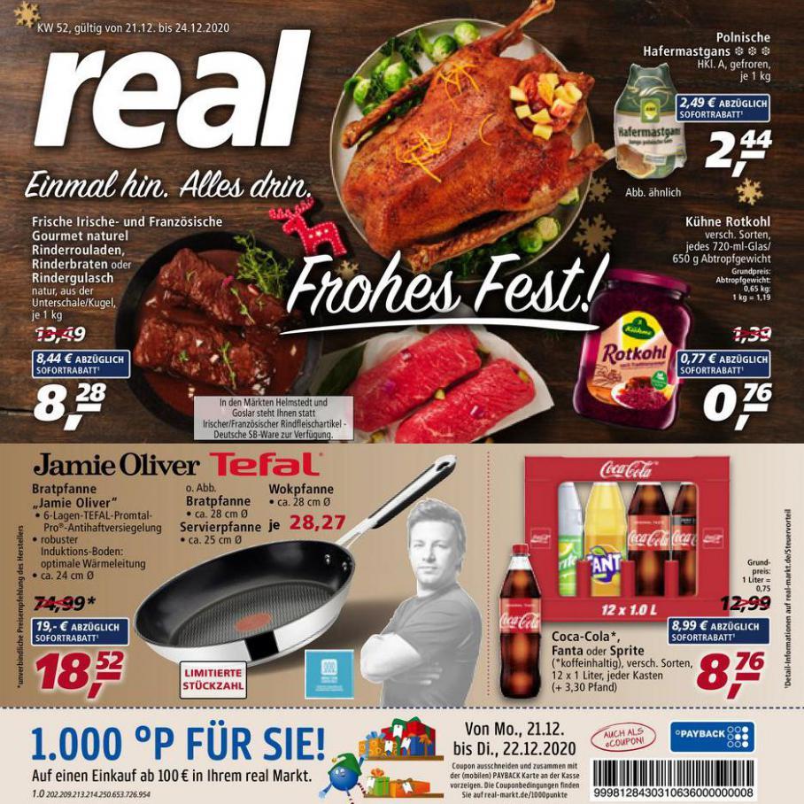 Prospekt Woche 52 . real (2020-12-26-2020-12-26)