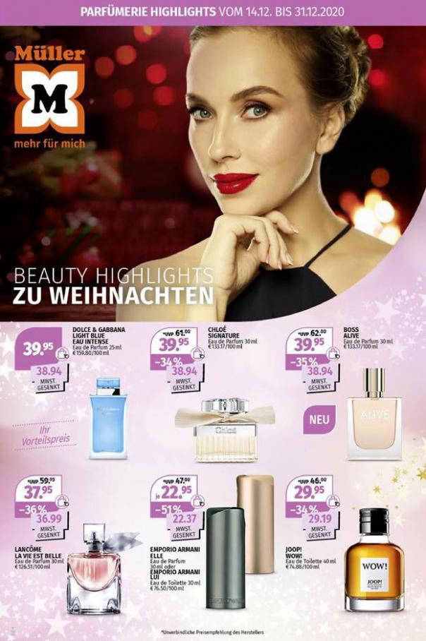 Beauty highlights . Müller (2020-12-31-2020-12-31)