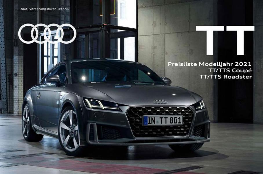 TT Preisliste Modelljahr 2021 . Audi (2021-12-31-2021-12-31)