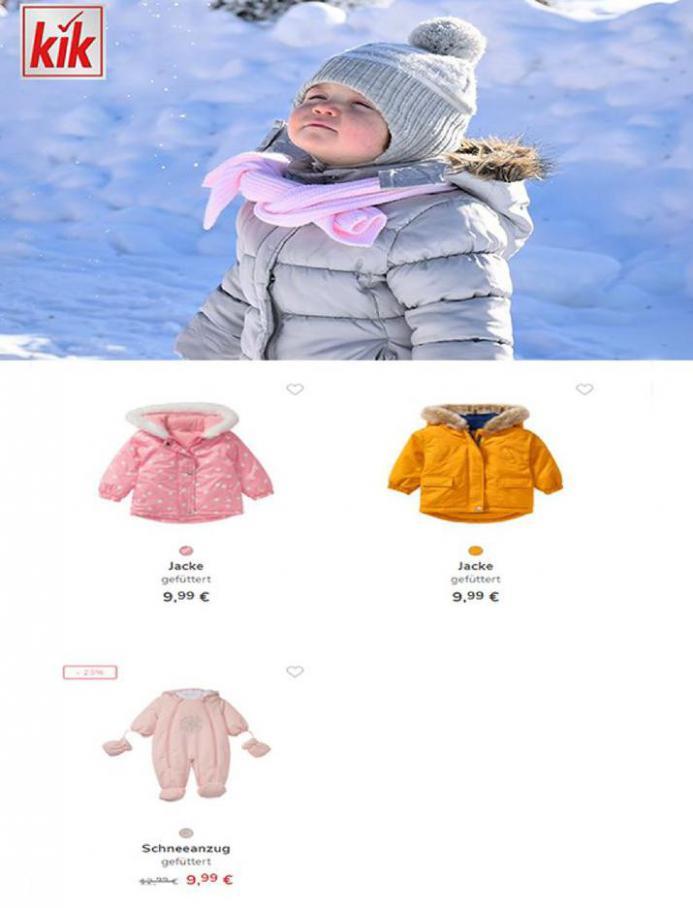 Baby- und Kinder Skibekleidung . KiK (2021-02-01-2021-02-01)