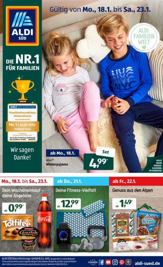 Aldi Süd flugblatt . Aldi Süd (2021-01-23-2021-01-23)