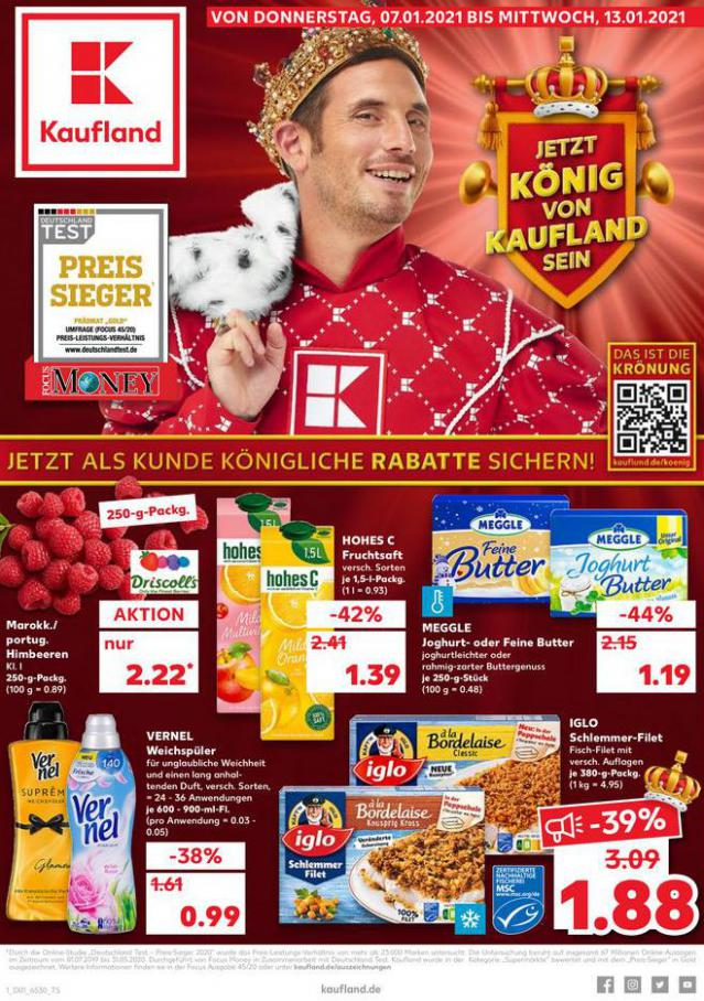 Angebote Kaufland . Kaufland (2021-01-13-2021-01-13)