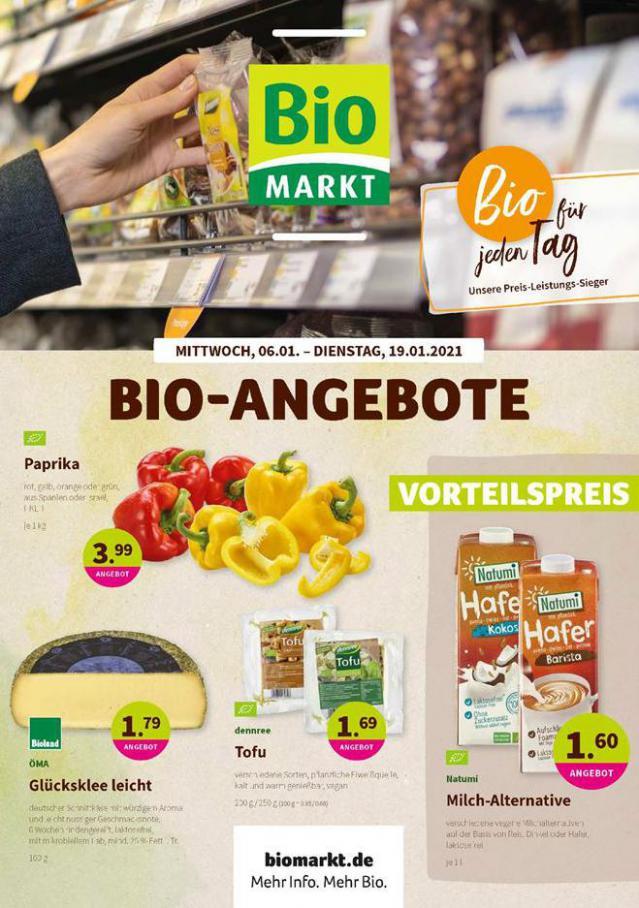Bio-Angebote . BioMarkt (2021-01-19-2021-01-19)